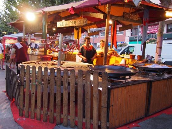 oliva food stall