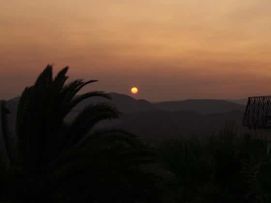 sun set alicante