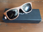 Finlay & Co. wooden sunglasses