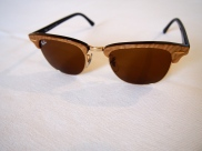 Ray-Ban gold clubmasters
